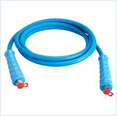 HD-Schlauch schraubbar 4M blau