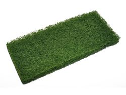 Scheuerpad grün für Padhalter